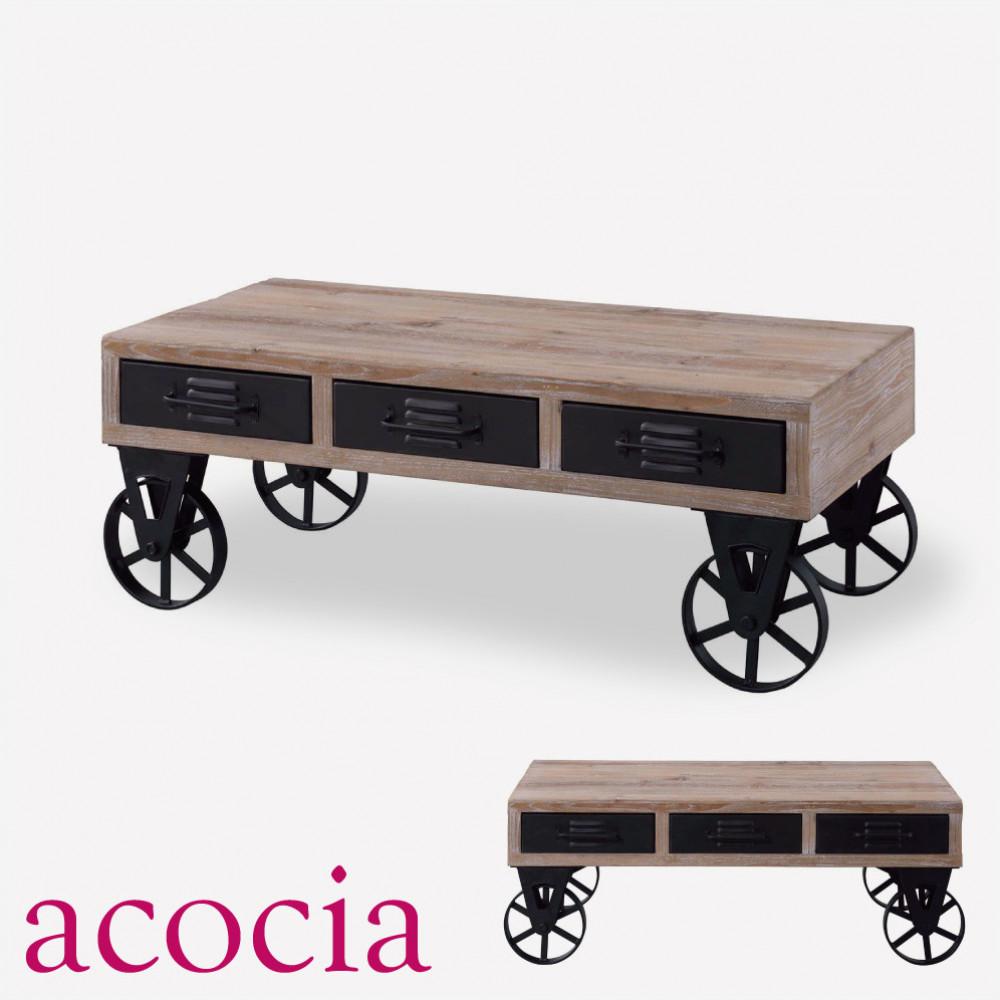 【本日割引クーポン有】 テーブル センターテーブル 木製 W102×D54.5×H38cm センターテーブル 【ダイニングチェア 半額】 【テーブル ソファー半額】 【こたつフェア】 北欧 インダストリアル, ebeads:90fb60ae --- adfun.jp