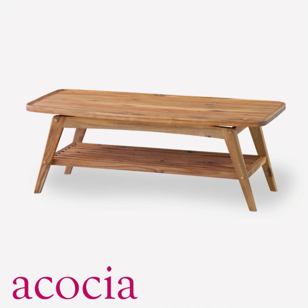 センターテーブル 半額 収納 北欧 おしゃれ 木製 ローテーブル 天然木 アカシア ウレタン塗装 イス W110×D50×H40 コーヒーテーブル 内祝い テーブル セール中 マラソンSALE品 ヴァルト ソファー チェア 割引