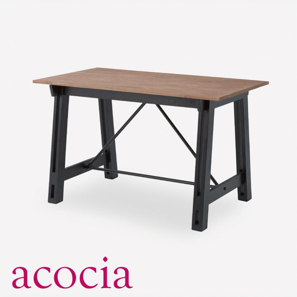 おしゃれ 【本革 高級ソファー セール】 【ダイニングチェア セール】 【ベランダ アウトドア】 テーブル ダイニングテーブル 木製 W120×D70×H72 ダイニングテーブル cafe カフェ サロン