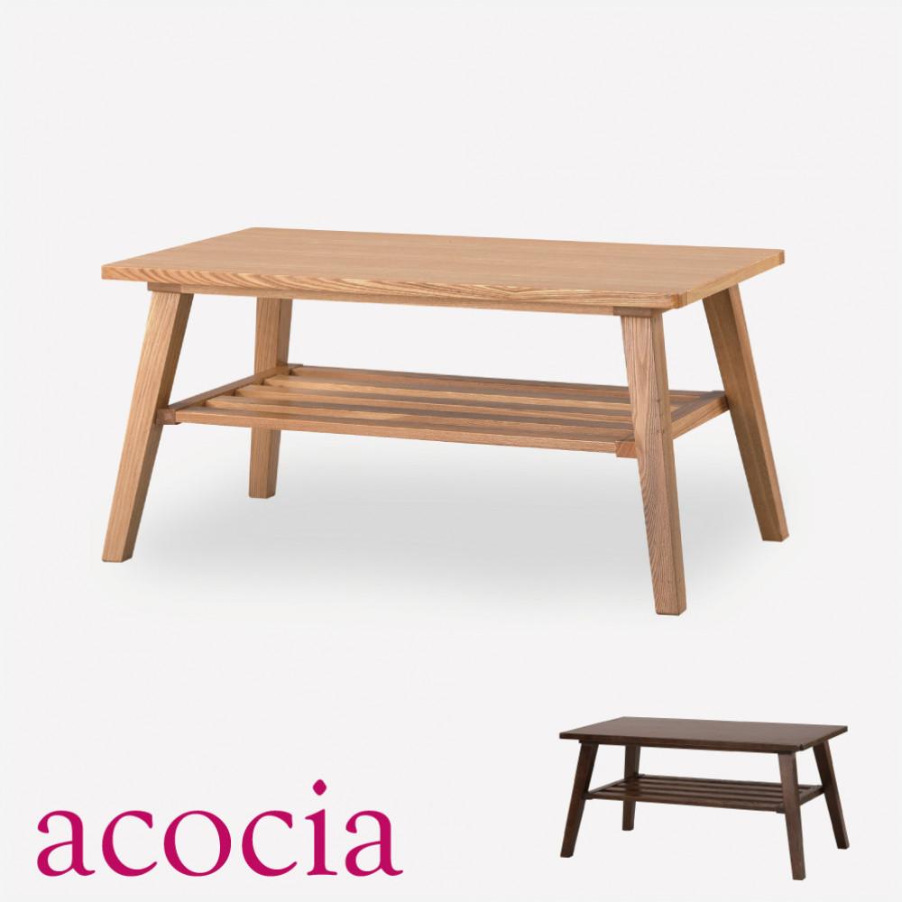 おしゃれ 【本革 高級ソファー セール】 【ダイニングチェア セール】 【ベランダ アウトドア】 テーブル センターテーブル 木製 W80×D44×H39 コーヒーテーブル cafe カフェ サロン