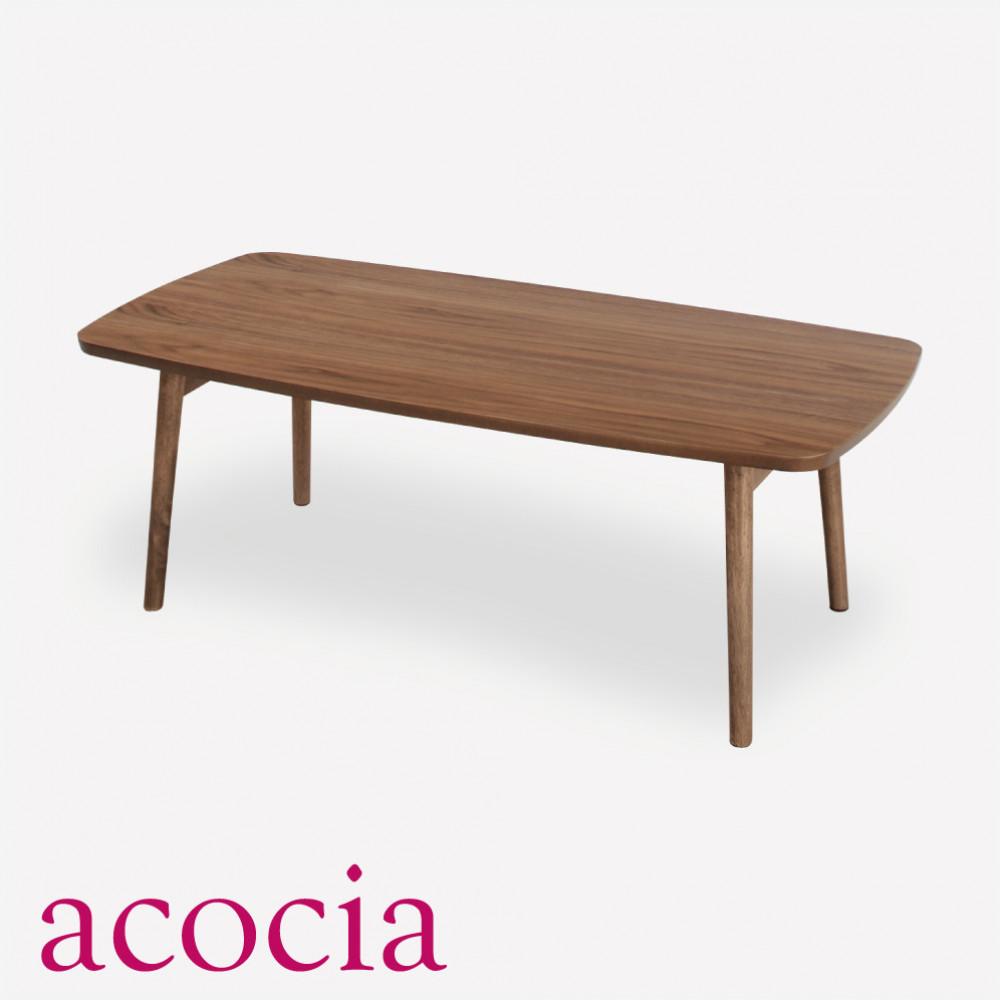 【本日割引クーポン有】 テーブル センターテーブル 木製 W105×D52×H35 フォールディングテーブル 【ダイニングチェア 半額】 【テーブル ソファー半額】 【こたつフェア】 北欧 インダストリアル