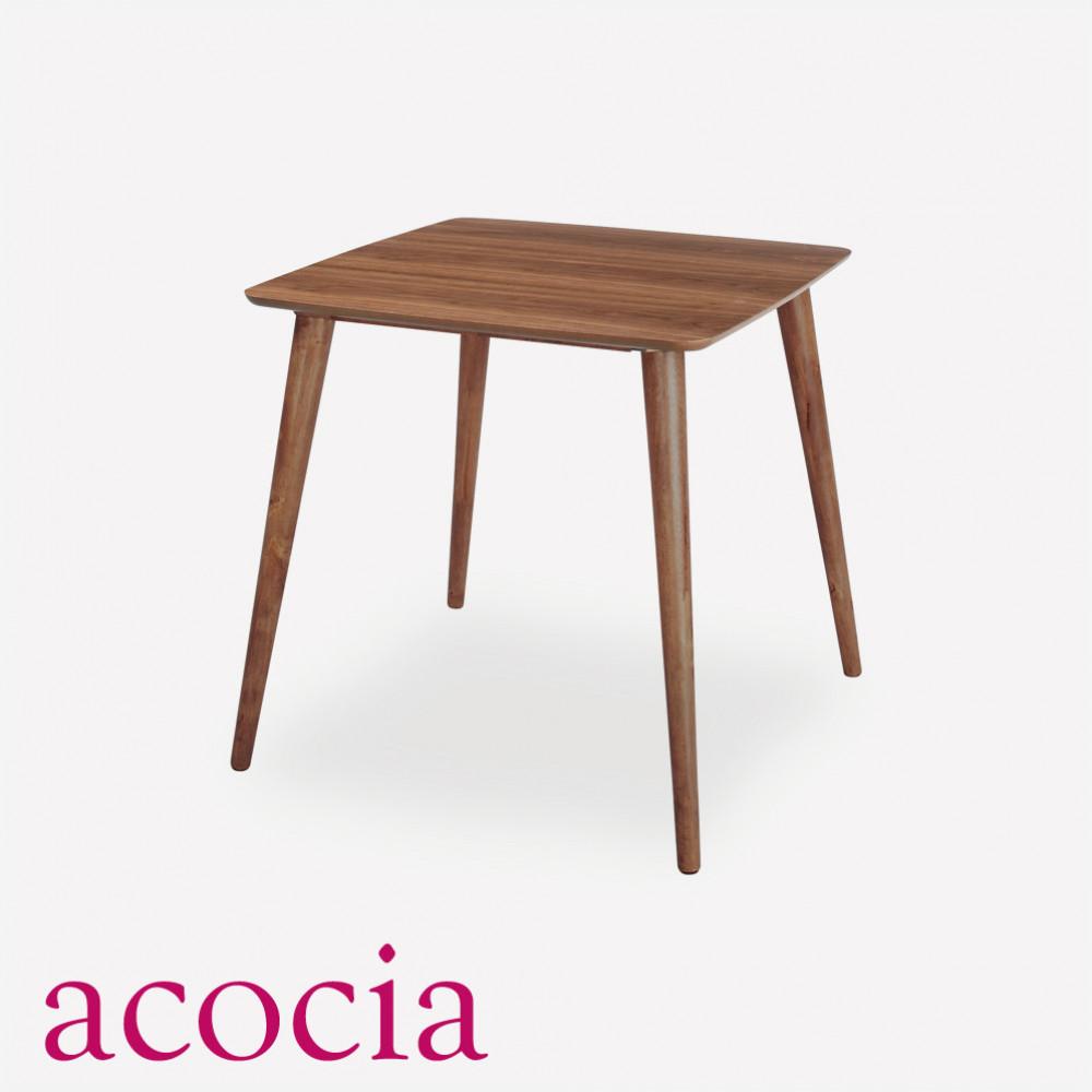 ダイニングテーブル 木製 北欧 カフェ おしゃれ カフェテーブル ティーテーブル 天然木 ラバーウッド 天然木化粧繊維板 ウォ セール モデルルーム イス W75×D75×H70 インダストリアル いつでも送料無料 チェア ダイニングチェア スーパーSALE テーブル 割引 cafe
