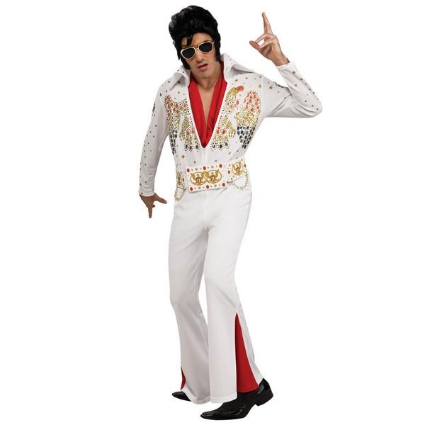 コスプレ 衣装 エルヴィス プレスリー デラックス コスチューム 大人 ハロウィン 仮装 海外 ミュージシャン スター ロック