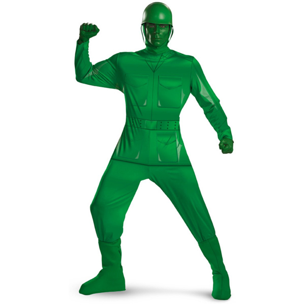 toy story halloween costumes adult cosplay costume movies green army men adult costume