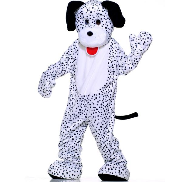 ハロウィン ダルメシアン 犬 着ぐるみ きぐるみ キャラクター きぐるみ エコノミーマスコット 大人用コスチューム パジャマ 年賀状 戌年