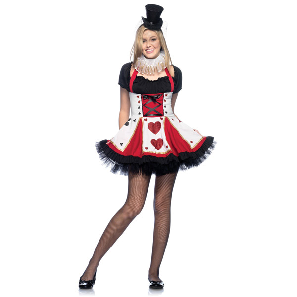 halloween presents pretty playing card costume teen halloween costume