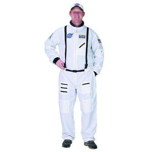 宇宙 衣装 大人 宇宙飛行士 NASA 宇宙服 白 制服 コスチューム コスプレ 仮装 ホワイト