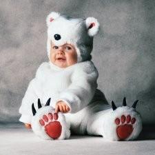 プレゼント トム・アーマ しろくまさん 赤ちゃん用 コスチュームハロウィン 衣装・コスチューム