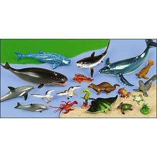 海の生物セット 動物 フィギュア セット 子供英語・学習・教材 知育玩具