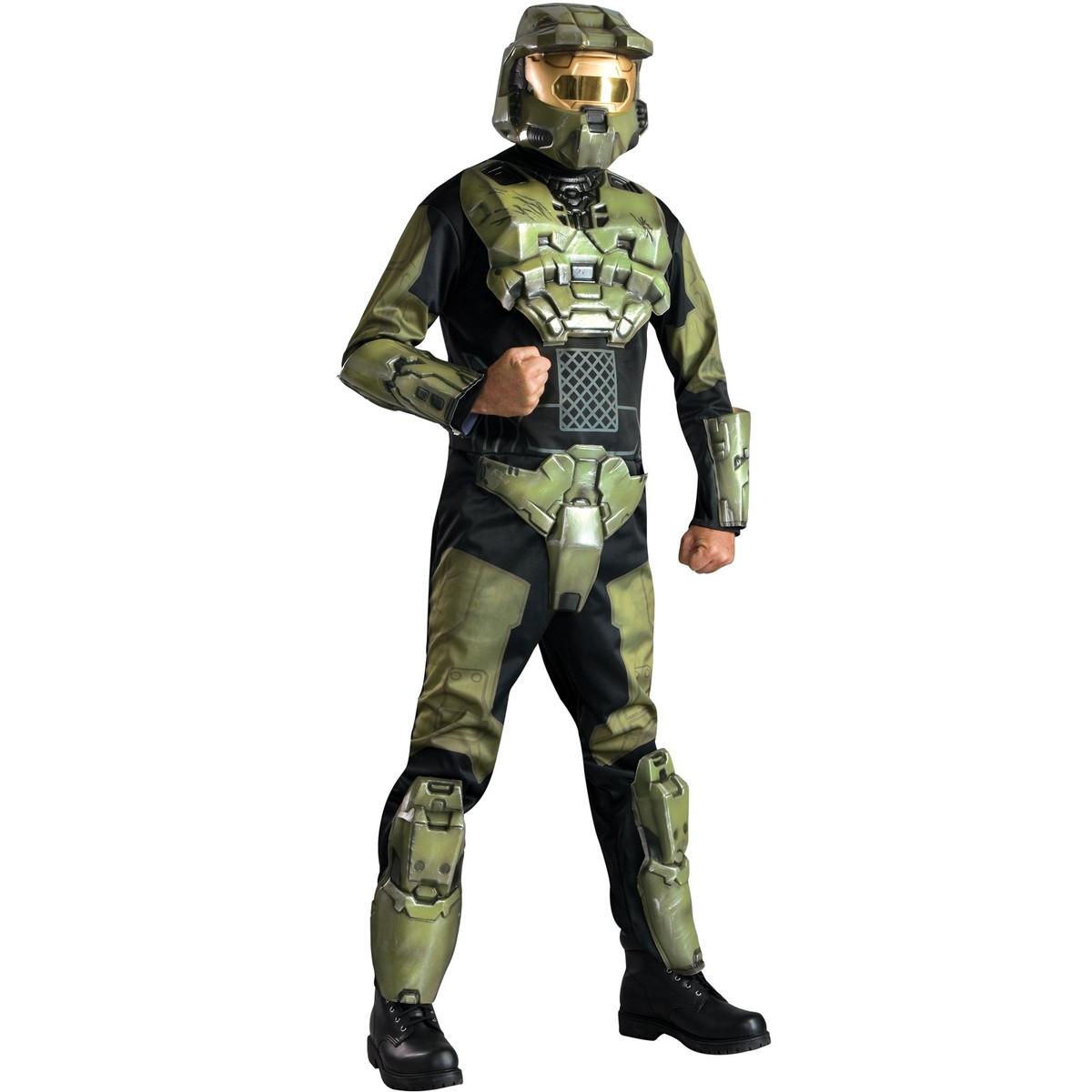 プレゼント 衣装 ヘイロー3 DXマスターチーフ 大人用コスチューム