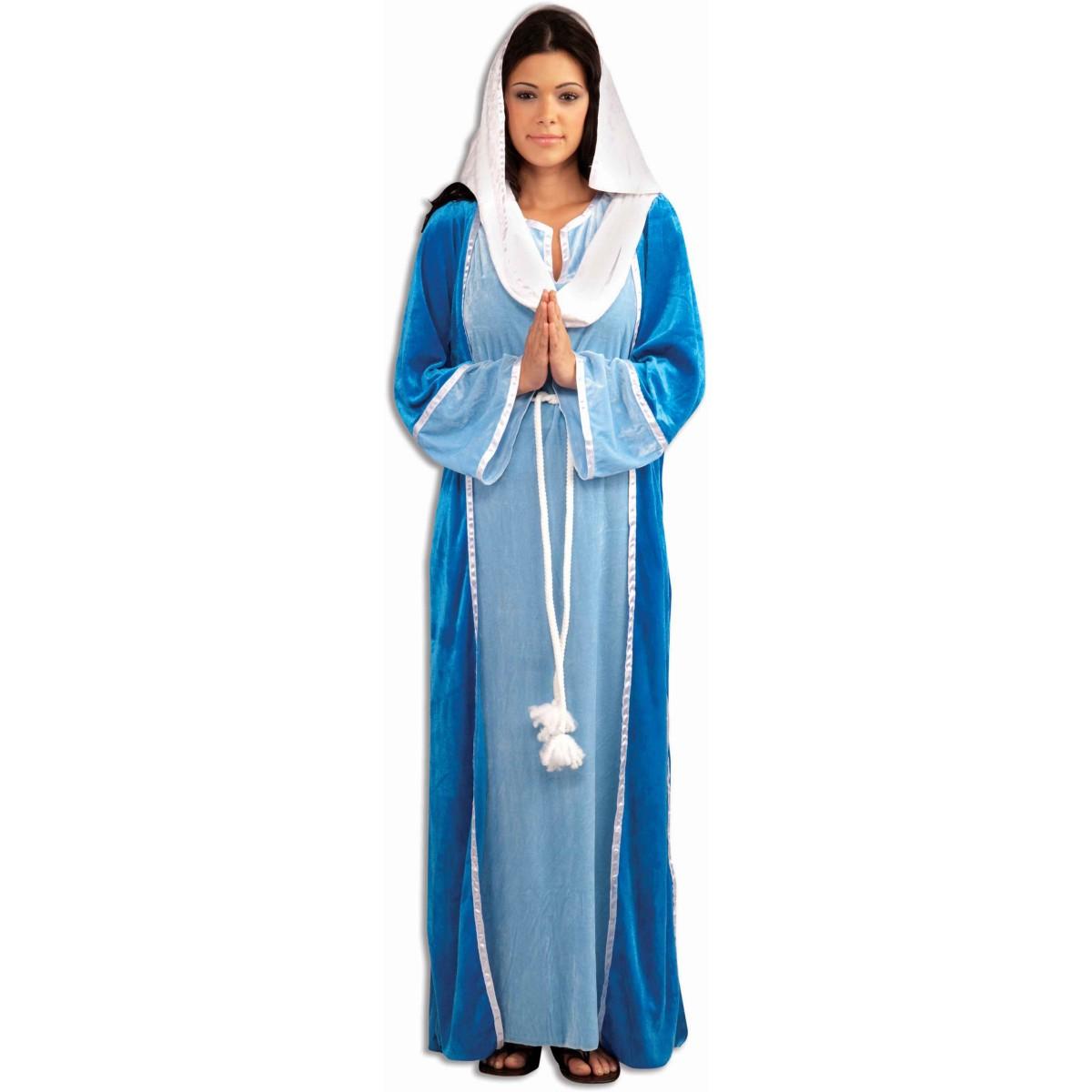 プレゼント 聖母 マリア コスプレ 衣装 聖書 大人用 コスチューム