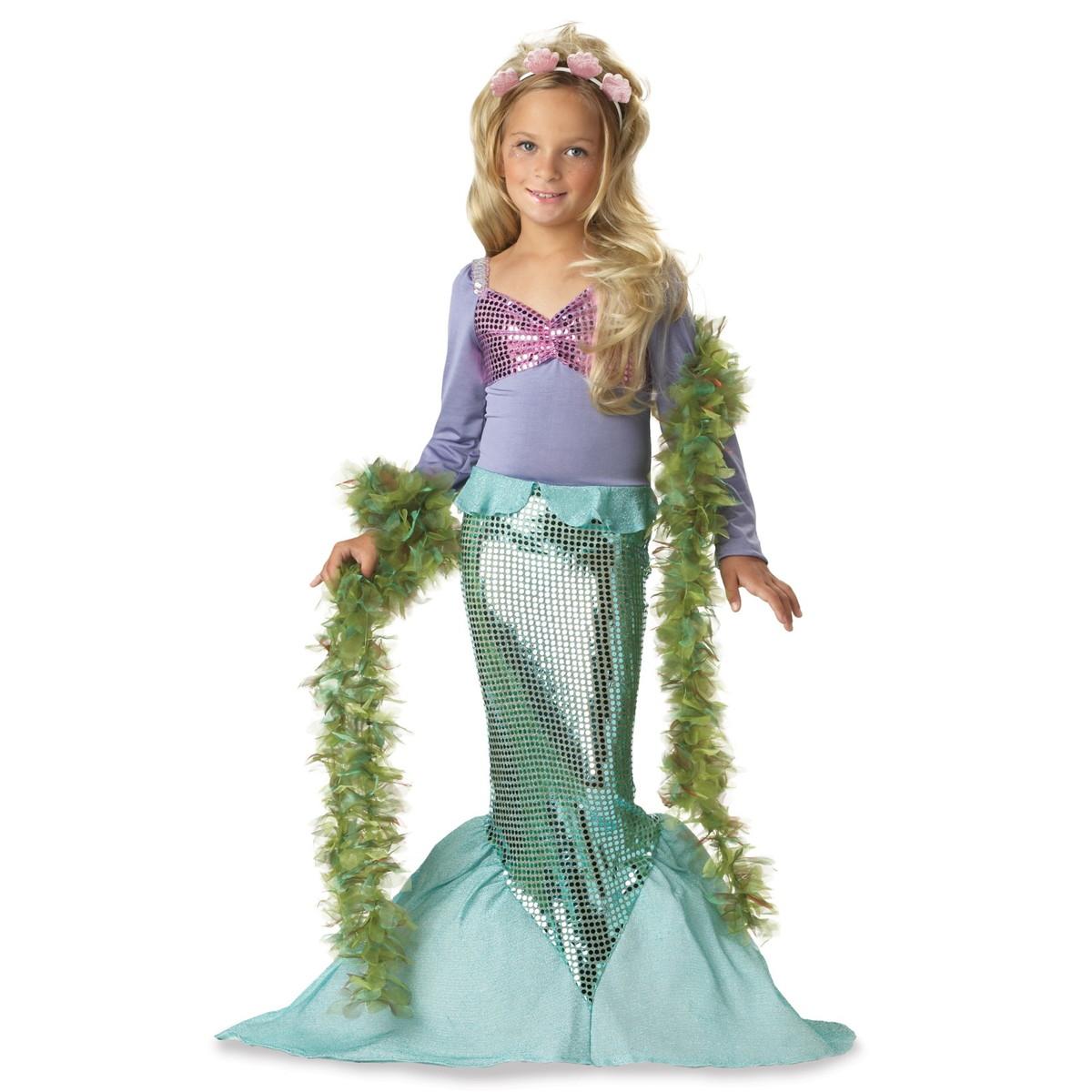 コスチューム 子供 マーメイド 人魚 衣装 コスプレ プリンセス