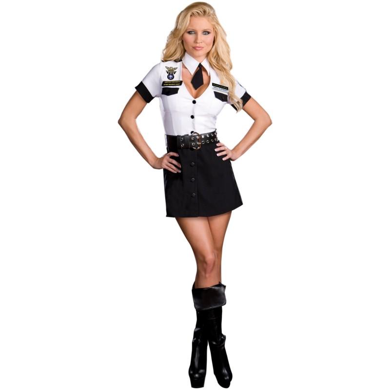 空港検査官クローズオフ 警察 警察官 衣装 大人用 コスプレ