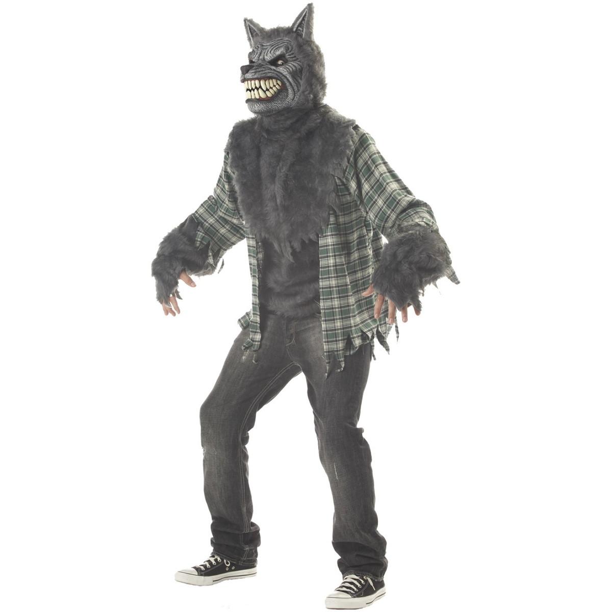 狼男 衣装 ハロウィーン コスチューム 満月の狼男 大人用