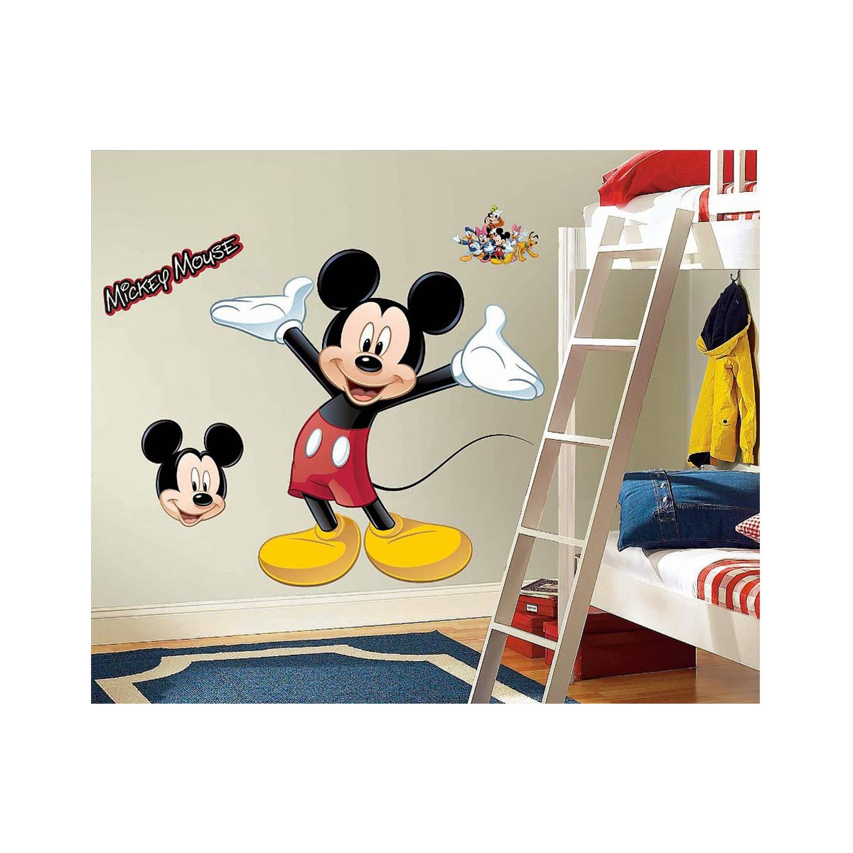 Acomes Wall Sticker Kids Room Disney Kids Mickey Mouse Interior