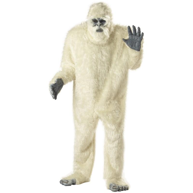 着ぐるみキャラクター きぐるみ 衣装 コスプレ ホラー 雪男 大人用コスチューム パジャマ モンスター エナジー ハンター