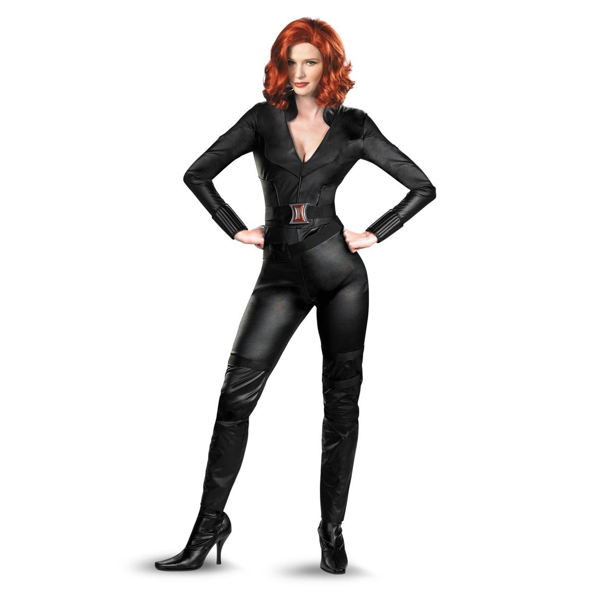 ブラックウィドウ スーツ コスプレ 大人用 女性用 アベンジャーズ キャラクター 仮装 衣装 コスチューム