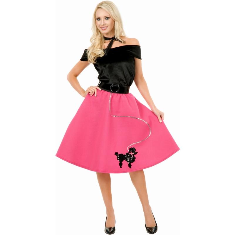 50's プードル スカート ドレスセット ハロウィン コスプレ 衣装 大人用コスチューム オールディーズ レトロ