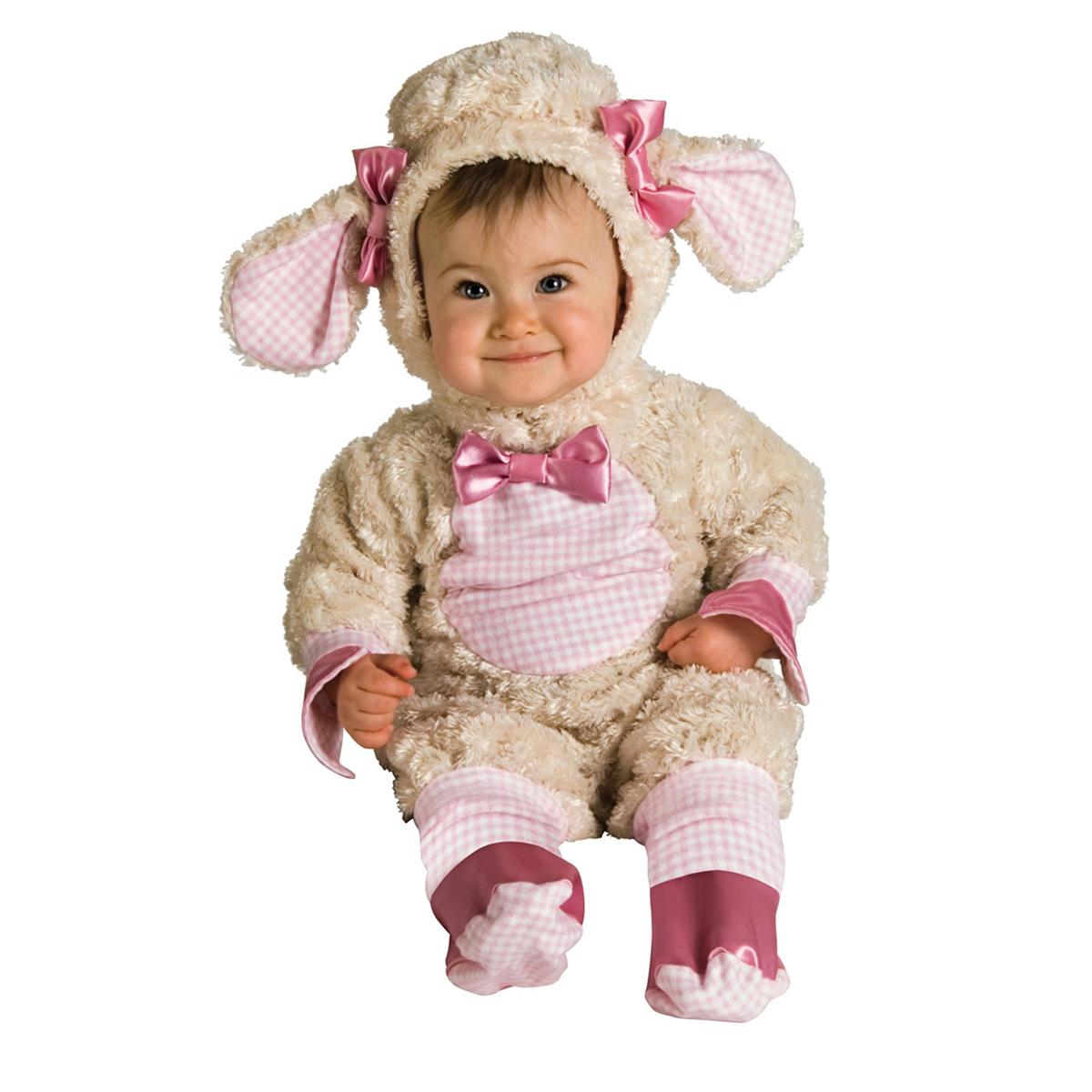 a47dbab2cf2a9 楽天市場 羊 コスチューム ベビー 赤ちゃん 衣装 ピンク ひつじ ...