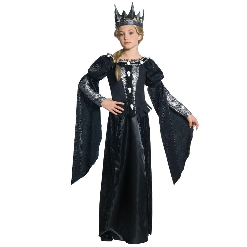 ディズニー コスチューム 子供 コスプレ 魔女 魔法使い スノーホワイト ラヴェンナ女王 ハロウィン 衣装 デラックス ヴィランズ ウィックド・クイーン