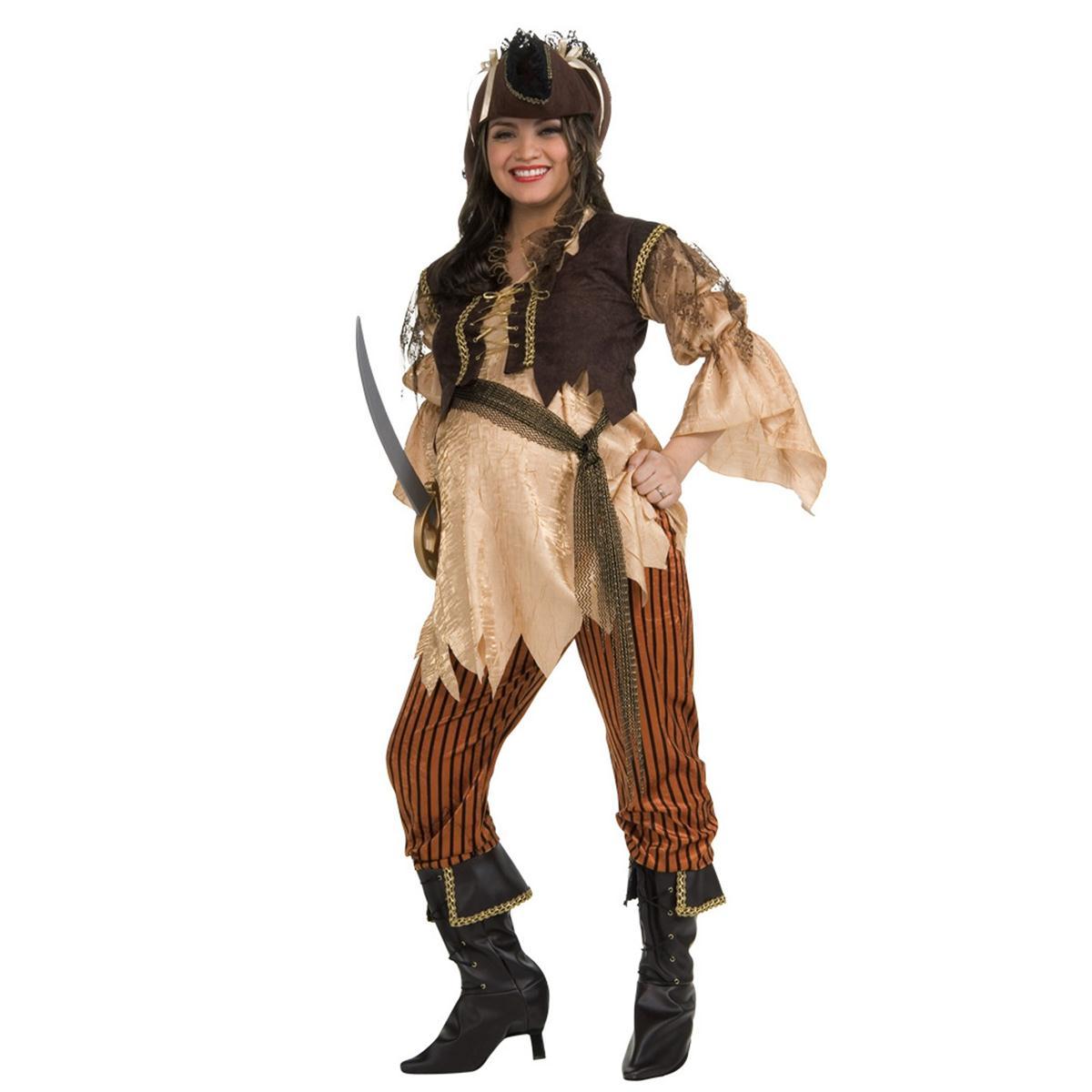 パイレーツ 海賊 ハロウィン コスプレ 衣装 妊婦のパイレーツクィーン 大人用コスチューム