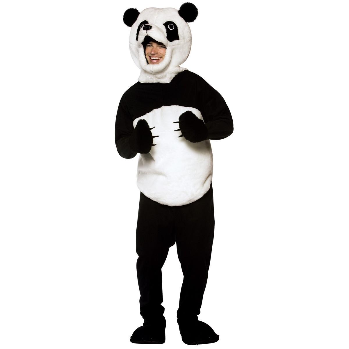 パンダ 着ぐるみ マスコット 大人用 動物 コスプレ コスチューム アニマル ハロウィン 仮装