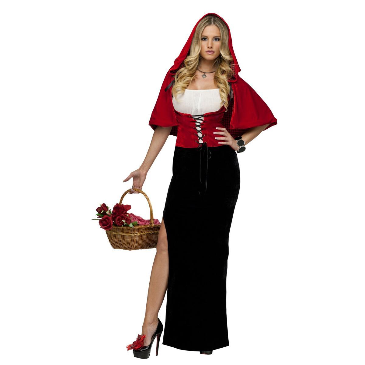セクシー 衣装 コスプレ エレガント 赤ずきん 赤頭巾ちゃん 大人用 コスチューム ハロウィン コスチューム