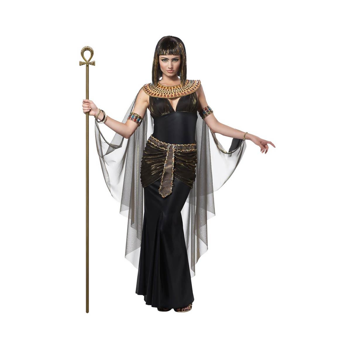 クレオパトラ コスチューム 大人 女性用 ベリーダンス 衣装 エジプト 古代 ブラック ナイトミュージアム