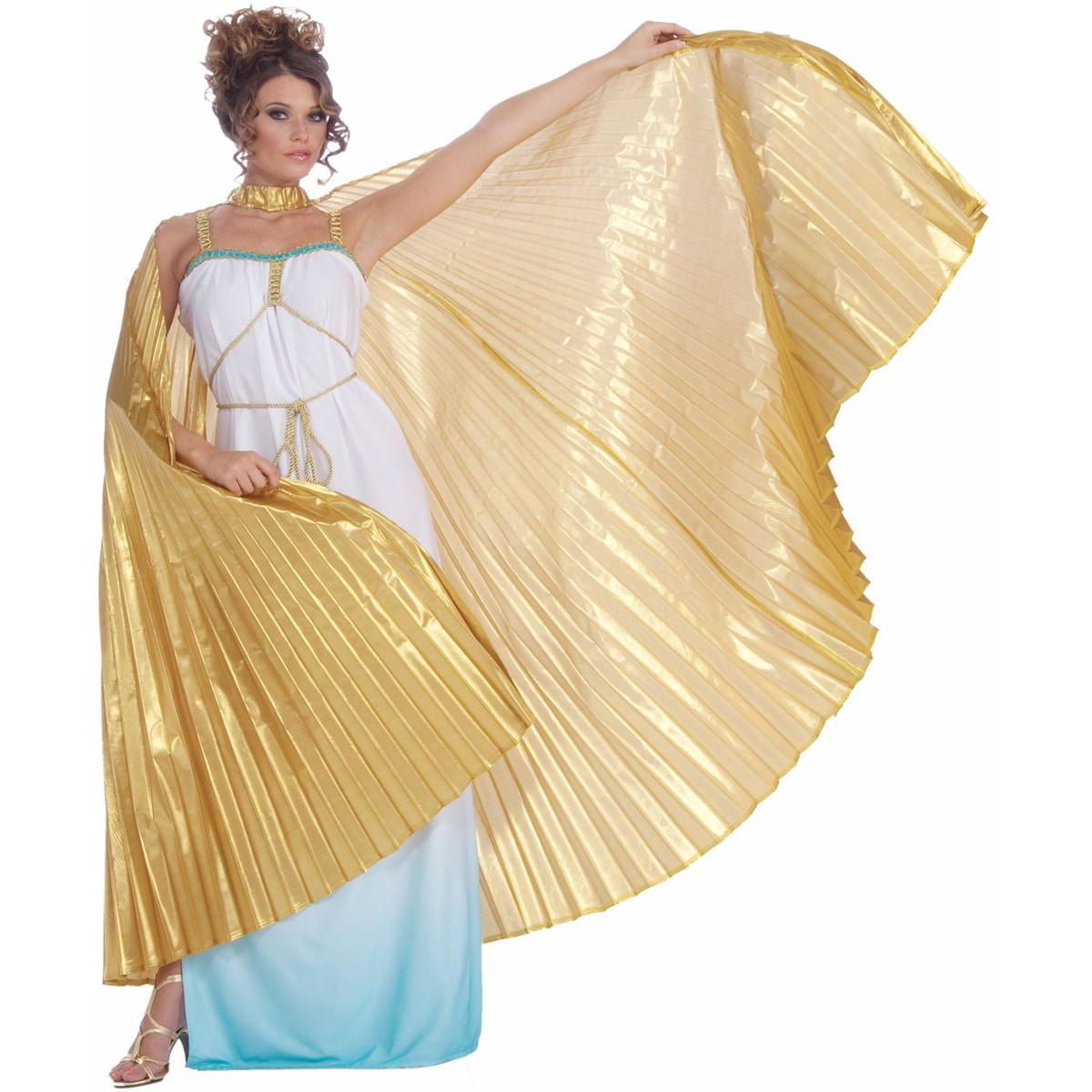 ローマ ギリシャ 女神 オリンピック ビーナス アテネ 女神 用 ゴールドマント ハロウィン コスチューム