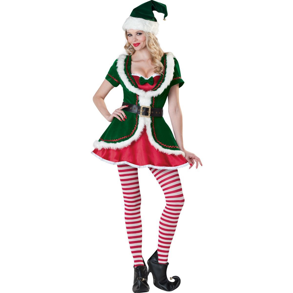 クリスマス サンタ コスプレ ホリデーハニー 大人用コスチューム 衣装 安い プレゼント