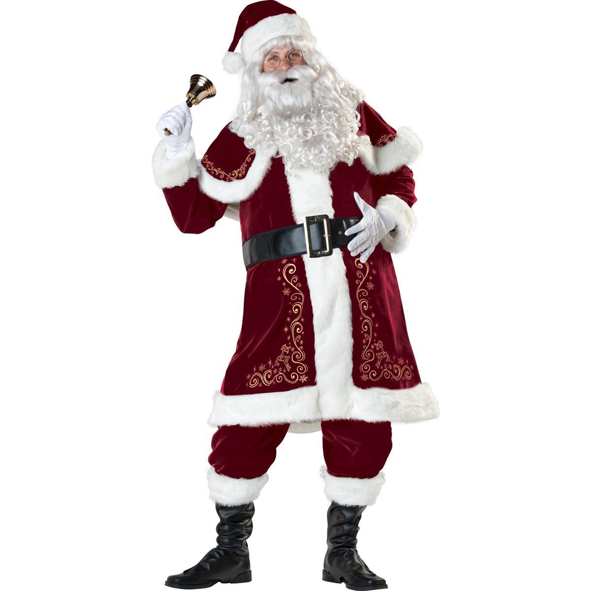クリスマス サンタ コスプレ 陽気なサンタさん 大人用コスチューム 衣装