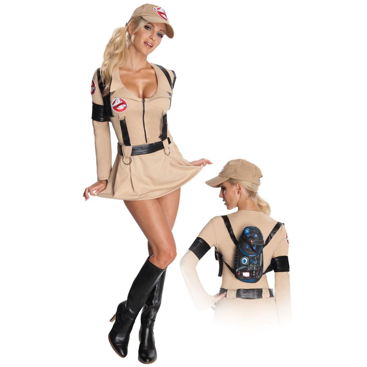ゴーストバスターズ 衣装 コスプレ コスチューム 大人 女性用 映画 ハロウィン レディース 仮装 グッズ