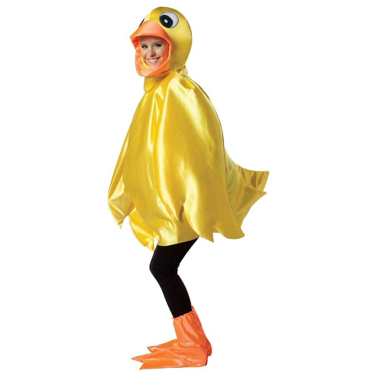 あひる コスプレ コスチューム アヒル 着ぐるみ イースター コスプレ 衣装 黄色い 大人用 ハロウィン コスチューム