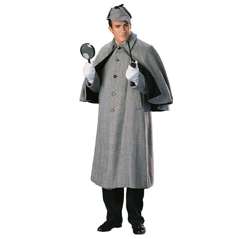 シャーロックホームズ 衣装 帽子 コスプレ ケープ 衣装 セット 大人用