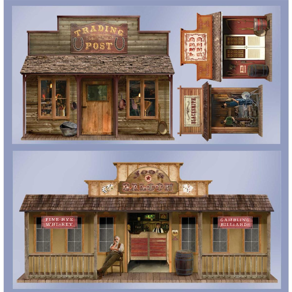Acomes Rakuten Global Market Wallpaper Wall Decor Amp Amp Amp Ornaments Wild West Town Wall Mount Parts Wall Stickers