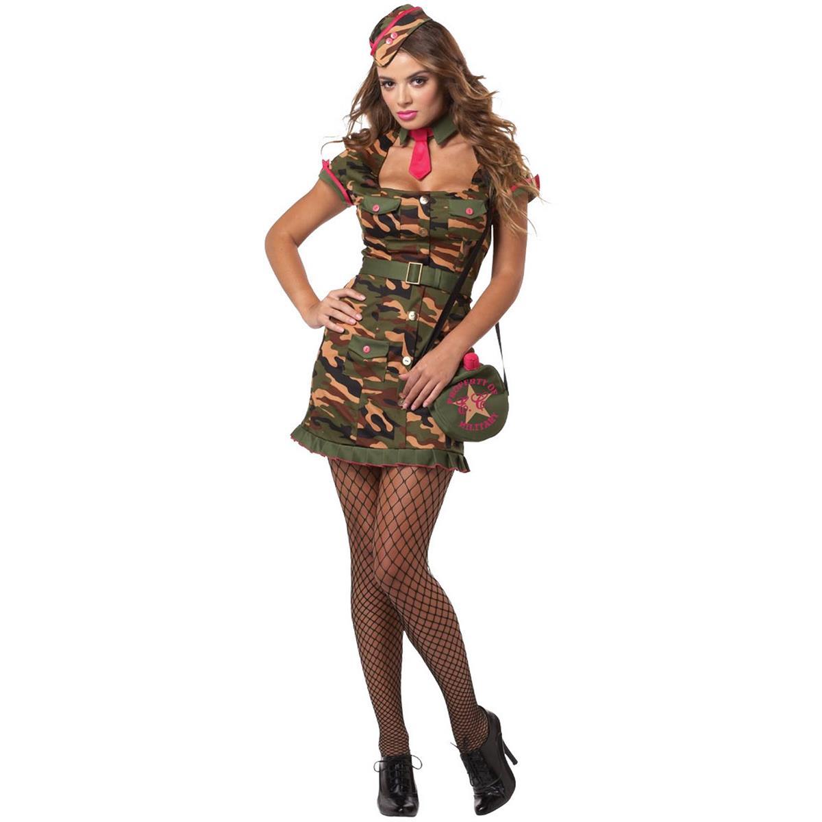 ミリタリー 制服 衣装 ハロウィン コスプレ セクシー プライベートファーストクラス 大人用コスチューム