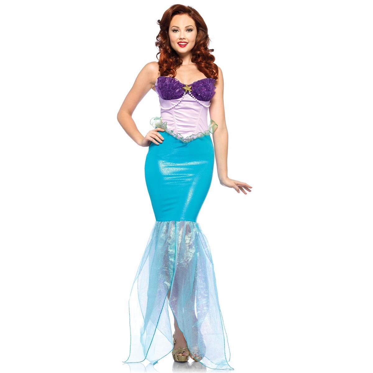 ディズニー プリンセス コスチューム 大人 リトルマーメイド 衣装 ストア ハロウィン リトルマーメイド アリエル