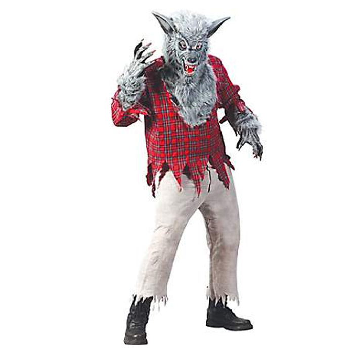 オオカミ かぶりもの コスチューム 大人 コスプレ 着ぐるみ 衣装 動物 ハロウィン ホラー 狼男