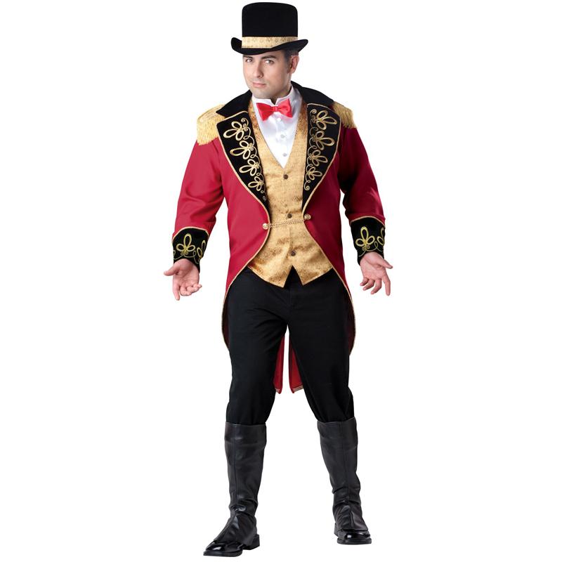 大きいサイズ ハロウィン コスプレ 大人 サーカス 団長 コスチューム 仮装 衣装