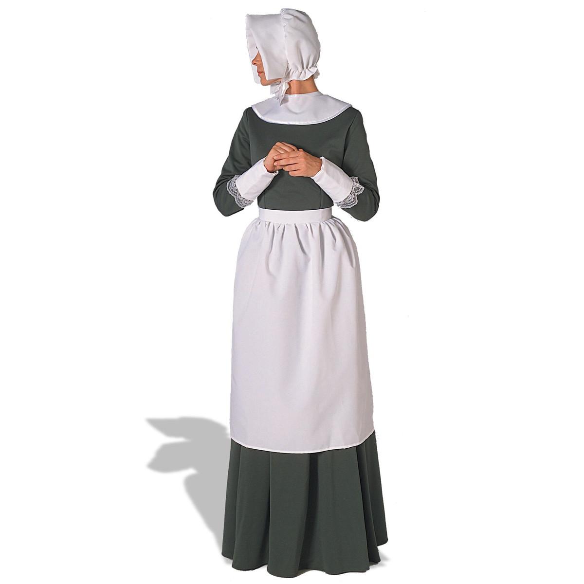 帽子 ピルグリム(イギリス人入植者)ボンネット帽子 アクセサリーキット大人用ハロウィン コスプレ グッズ