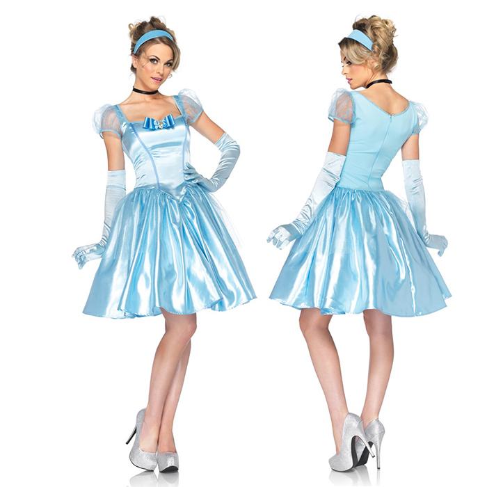 シンデレラ コスプレ大人 ドレス 女性 衣装 ディズニープリンセス