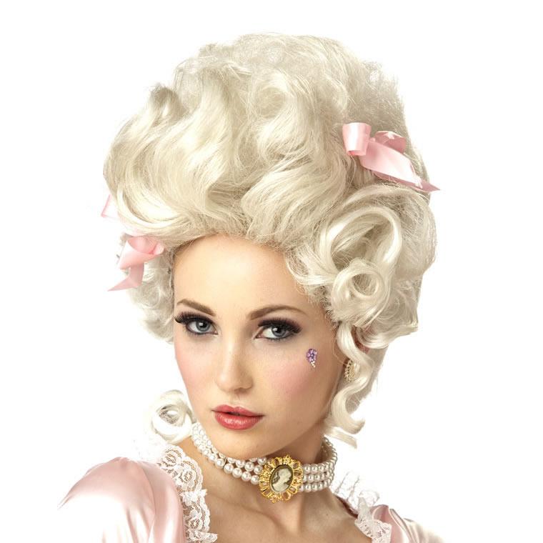 マリーアントワネット マリー・アントワネット かつら ウィッグ 大人 コスプレ レディース 貴族 中世 ヨーロッパ 王妃 演劇 舞台 仮装 変装 小道具