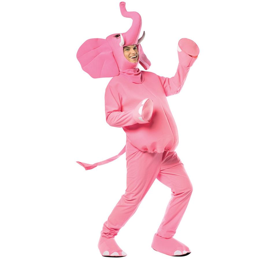 衣装 コスチューム ピンクの象のコスチュームハロウィン 衣装・コスチューム