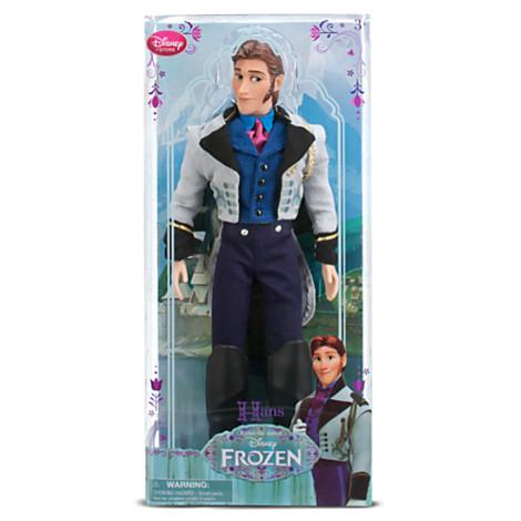 アナと雪の女王 グッズ フィギュア ハンス 王子 人形 Frozen ディズニー