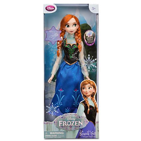 アナと雪の女王 グッズ フィギュア 歌うアナ人形 Frozen ディズニー プリンセス