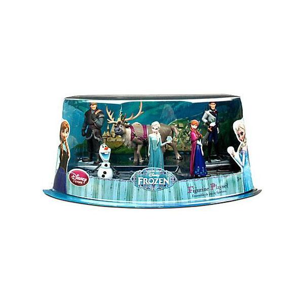 アナと雪の女王 グッズ フィギュア 人形 キャラクター6体 プレイセット Frozen ディズニー プリンセス
