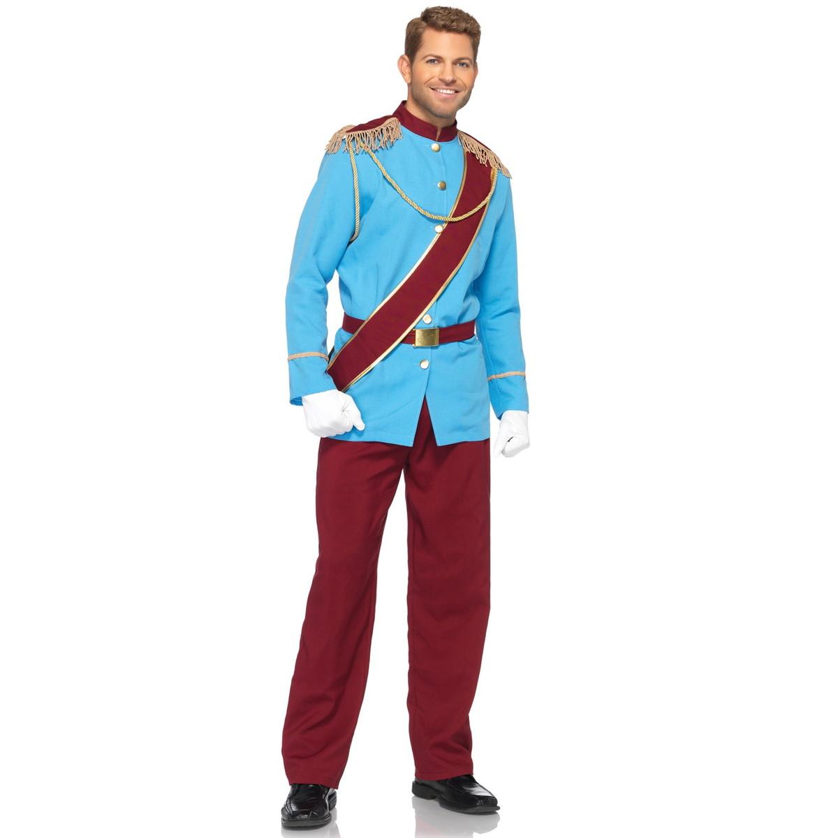 ハロウィン シンデレラ コスプレ ディズニー シンデレラ プリンス チャーミング 王子様 男性用 衣装 仮装