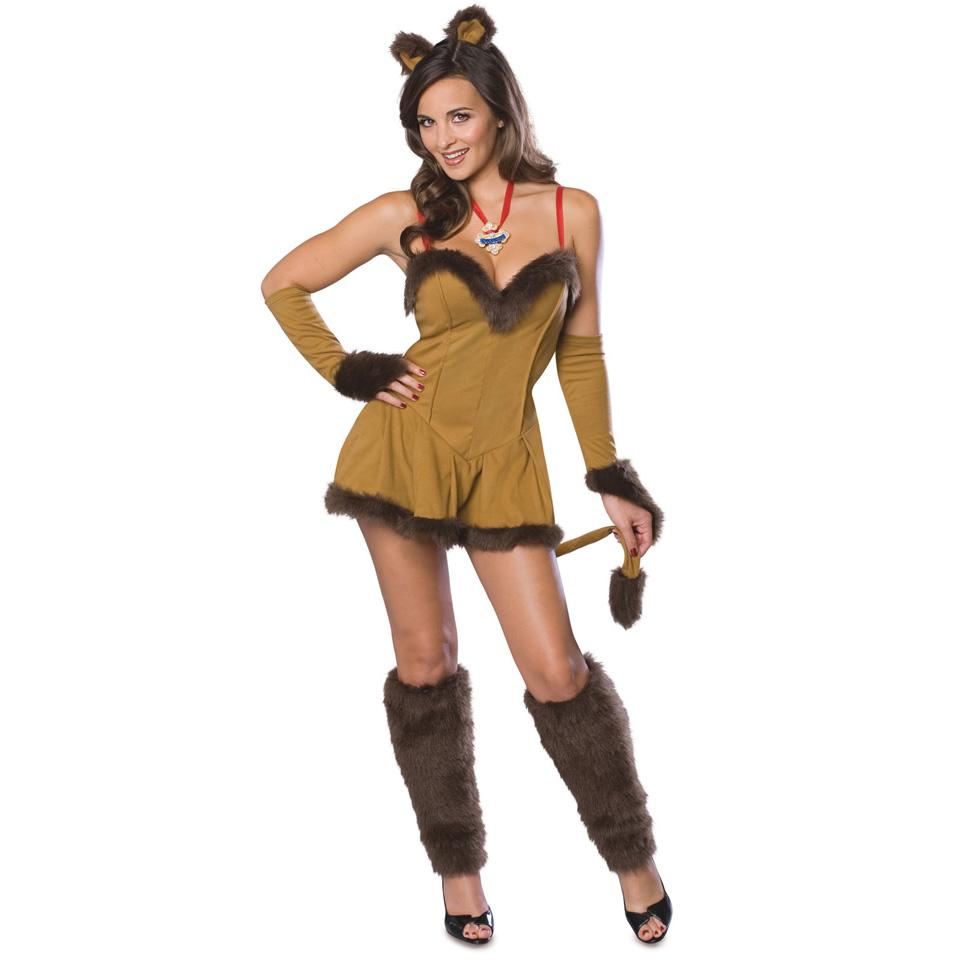 ハロウィン オズの魔法使い ライオン コスプレコスチューム 衣装 大人 女性 セクシー