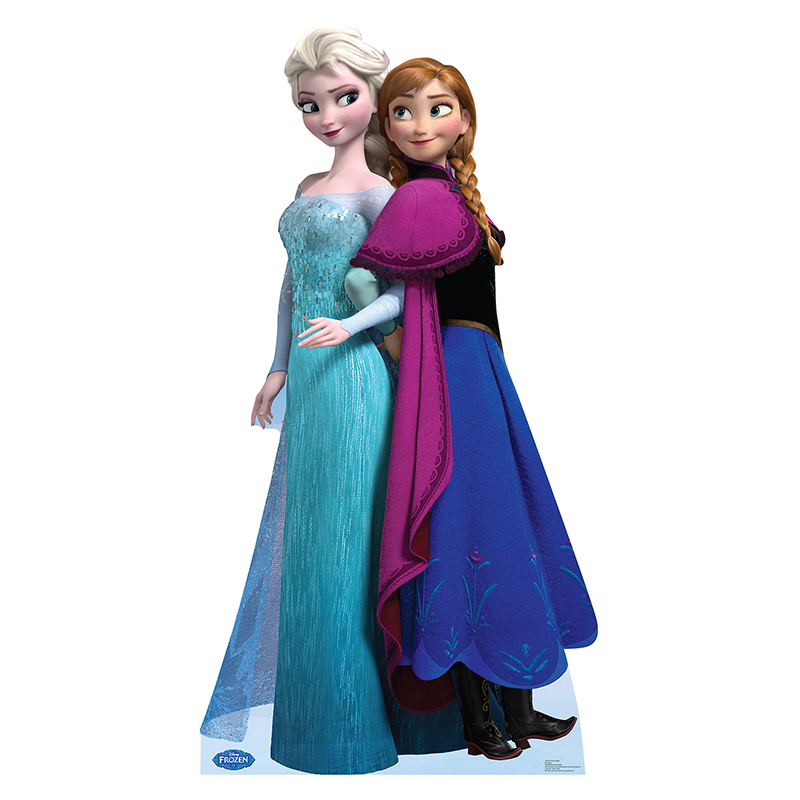 アナと雪の女王 グッズ エルサ アナ 等身大パネル ディズニー Frozen ディズニー プリンセス