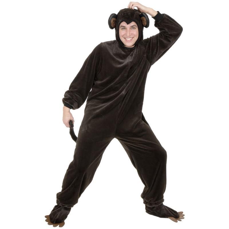 サル コスチューム 動物 着ぐるみ 大人 コスプレ 衣装 仮装 おさるのジョージ